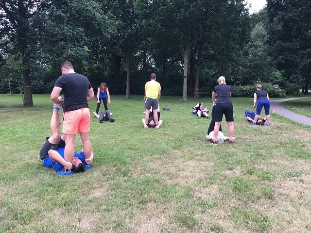 fun fit steenwijk bootcamp oefeningen